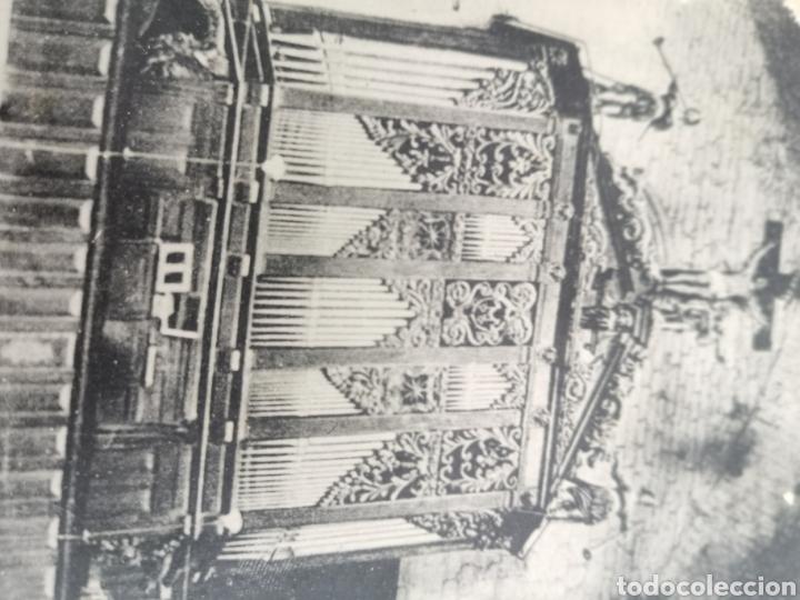 Instrumentos musicales: Postal de interior Iglesia Valreas, Órgano. - Foto 6 - 214887672