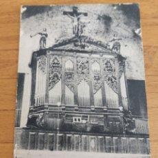 Instrumentos musicales: POSTAL DE INTERIOR IGLESIA VALREAS, ÓRGANO.. Lote 214887672