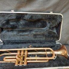 Instrumentos musicales: VIEJA TROMPETA SONORA. Lote 214961596