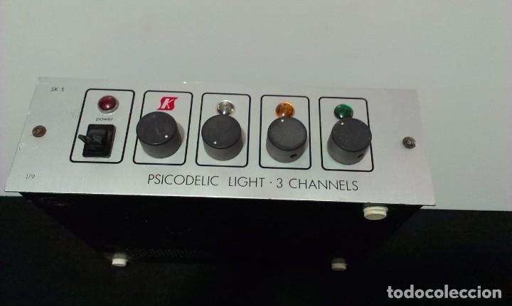 PSICODELIC LIGHT - 3 CHANNELS - SK 5 (Música - Instrumentos Musicales - Accesorios)