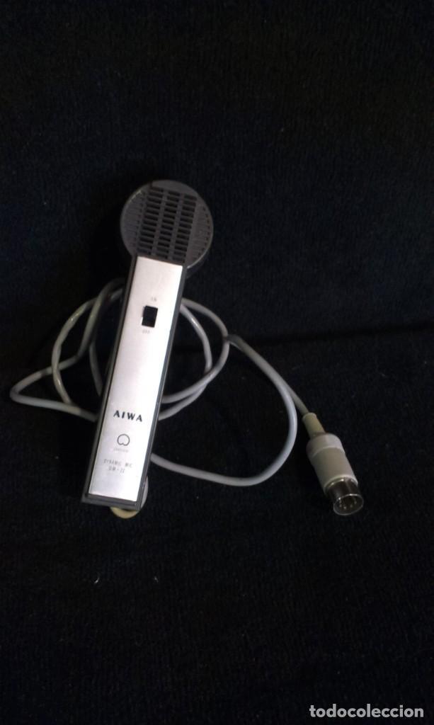 ANTIGUO MICROFONO - AIWA DM-72 (Música - Instrumentos Musicales - Accesorios)