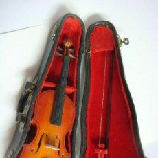 Instruments Musicaux: MAQUETA CONTRABAJO EN MINIATURA CON SU ESTUCHE. Lote 215185831