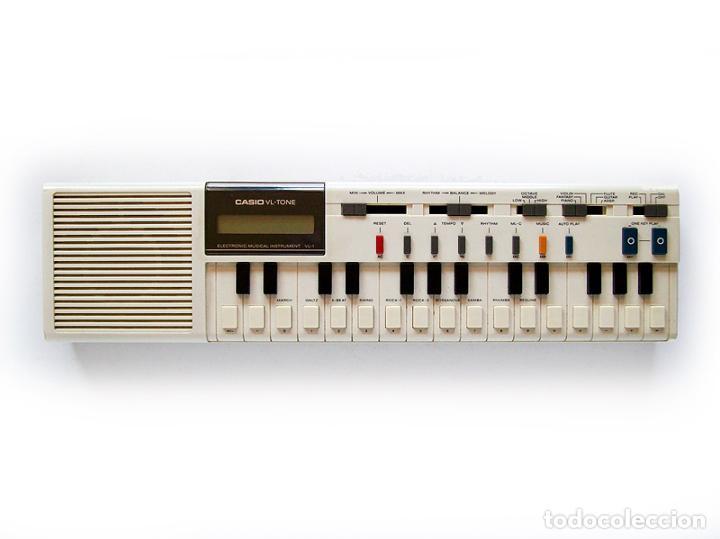 TECLADO CASIO VL-TONE - FUNCIONANDO - MUY BIEN CONSERVADO (Música - Instrumentos Musicales - Teclados Eléctricos y Digitales)