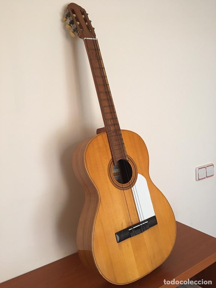 Instrumentos musicales: ANTIGUA GUITARRA ESPAÑOLA - L. PARODI - CADIZ - ESPAÑA - Foto 2 - 215371427