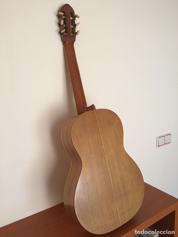 Instrumentos musicales: ANTIGUA GUITARRA ESPAÑOLA - L. PARODI - CADIZ - ESPAÑA - Foto 6 - 215371427