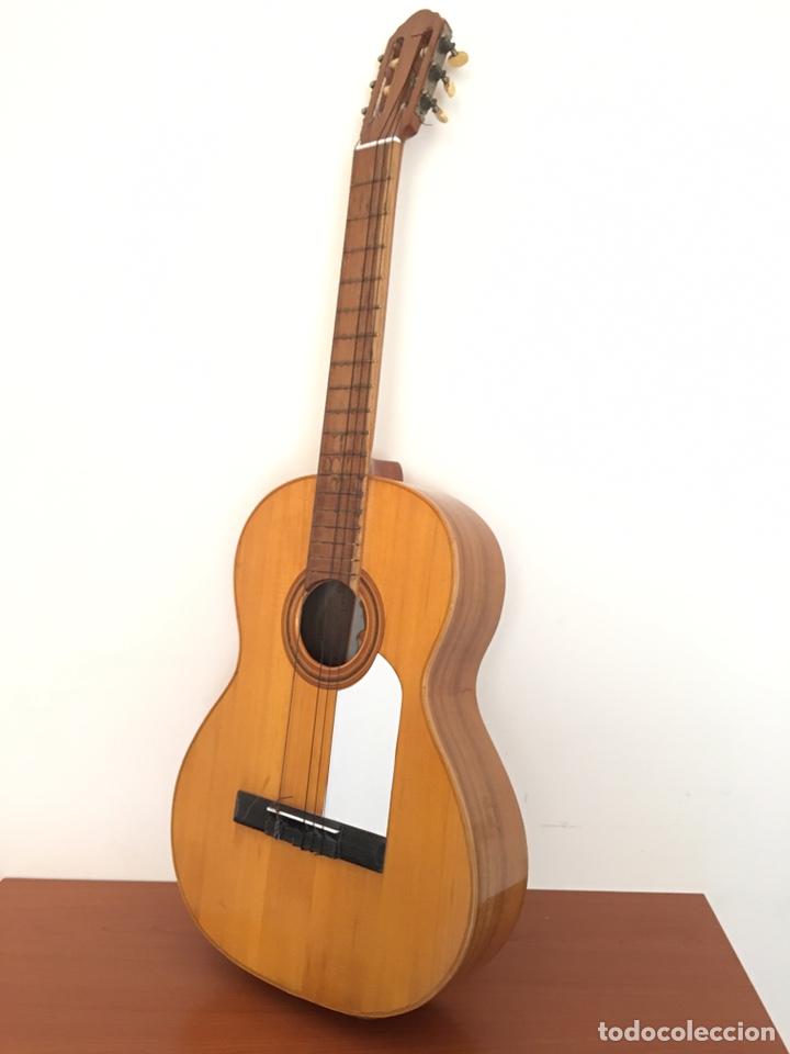 Instrumentos musicales: ANTIGUA GUITARRA ESPAÑOLA - L. PARODI - CADIZ - ESPAÑA - Foto 9 - 215371427