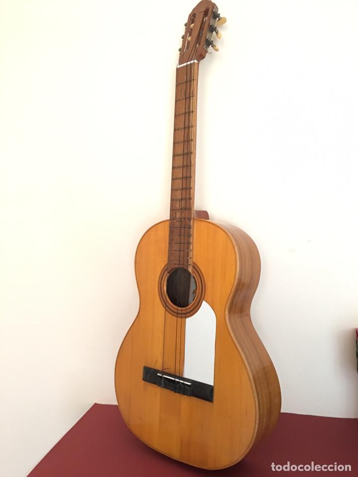 ANTIGUA GUITARRA ESPAÑOLA - L. PARODI - CADIZ - ESPAÑA (Música - Instrumentos Musicales - Guitarras Antiguas)