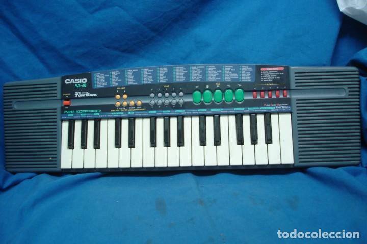 ORGANO CASIO SA - 38A - 100 SONIDOS - SUPER ACOMPAÑAMIENTOS (Música - Instrumentos Musicales - Teclados Eléctricos y Digitales)