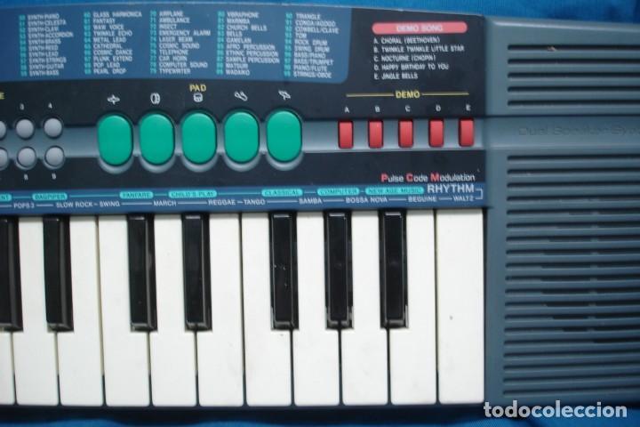 Instrumentos musicales: ORGANO CASIO SA - 38A - 100 SONIDOS - SUPER ACOMPAÑAMIENTOS - Foto 2 - 215531073