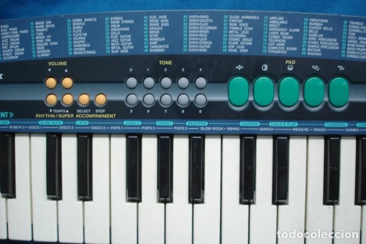 Instrumentos musicales: ORGANO CASIO SA - 38A - 100 SONIDOS - SUPER ACOMPAÑAMIENTOS - Foto 3 - 215531073