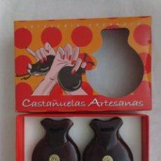 Instrumentos musicales: CASTAÑUELAS ARTESANAS DE LA VIRGEN DEL PILAR. Lote 215605470