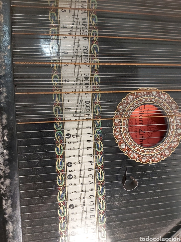 Instrumentos musicales: ANTIGUA CITARA - Foto 2 - 215991350
