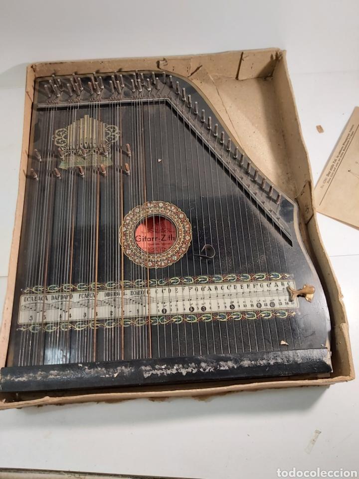 ANTIGUA CITARA (Música - Instrumentos Musicales - Cuerda Antiguos)