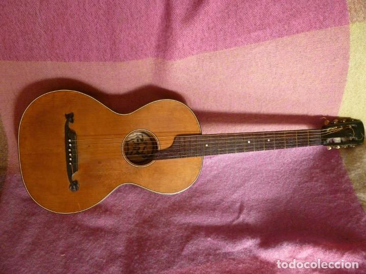 GUITARRA ROMÁNTICA ALEMANA (Música - Instrumentos Musicales - Guitarras Antiguas)