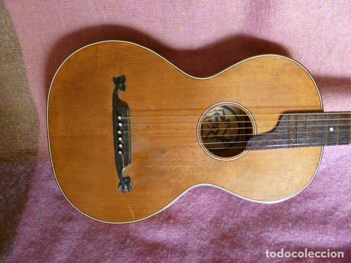 Instrumentos musicales: Guitarra romántica alemana - Foto 2 - 216371368