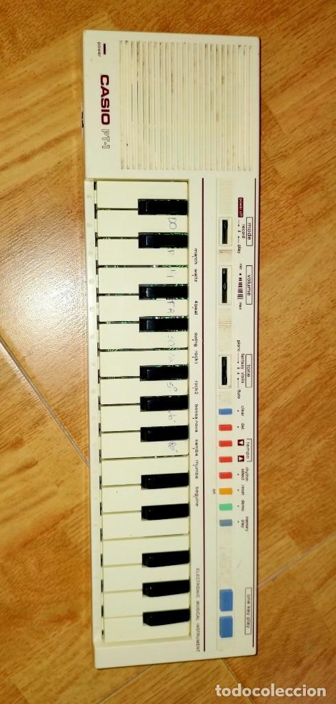 Instrumentos musicales: Teclado PT1 Casio - Foto 2 - 216389780
