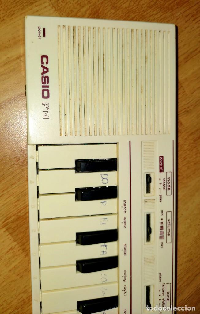 Instrumentos musicales: Teclado PT1 Casio - Foto 3 - 216389780
