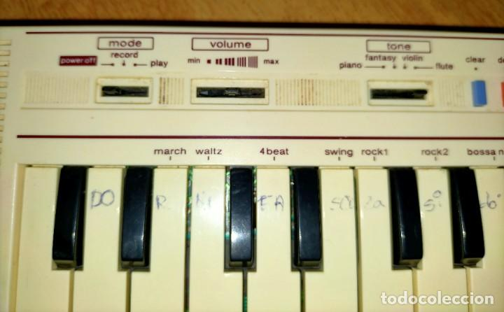Instrumentos musicales: Teclado PT1 Casio - Foto 8 - 216389780