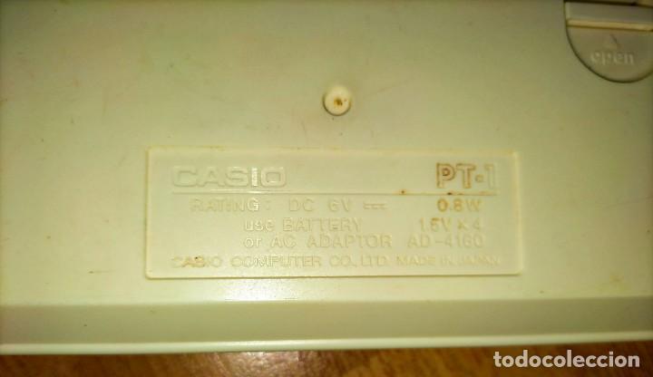 Instrumentos musicales: Teclado PT1 Casio - Foto 9 - 216389780