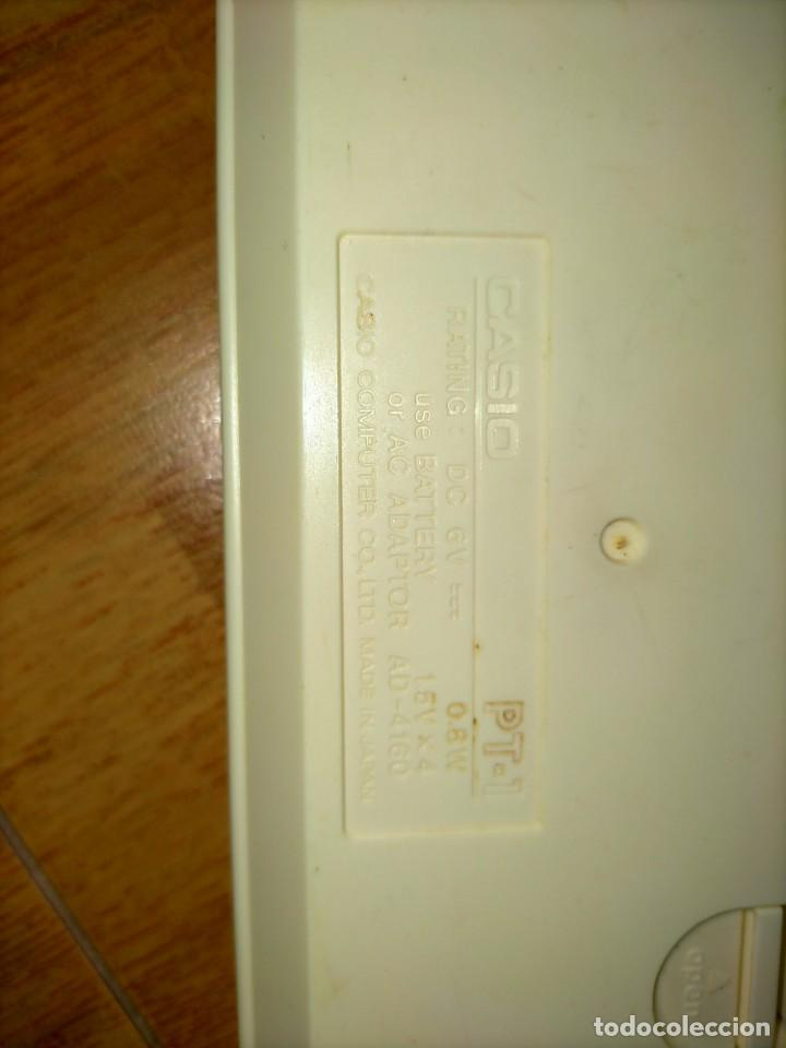 Instrumentos musicales: Teclado PT1 Casio - Foto 12 - 216389780