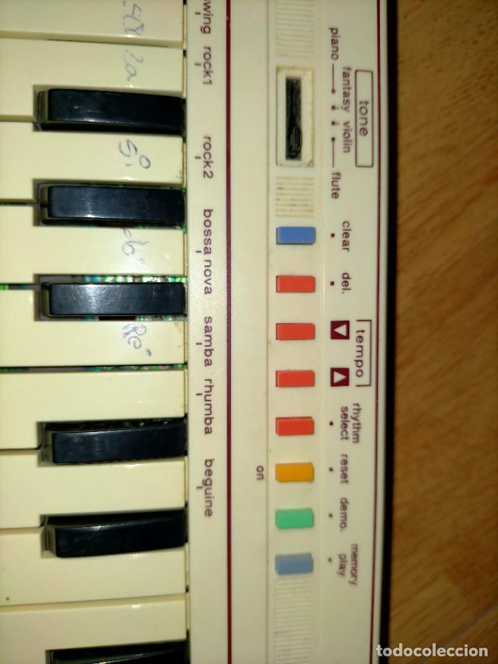 Instrumentos musicales: Teclado PT1 Casio - Foto 13 - 216389780