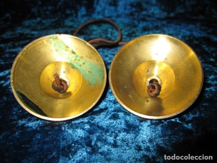 Instrumentos musicales: Platillos platos crótalos címbalos tibetanos Tíbet bronce - Foto 9 - 216454091