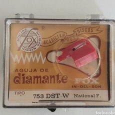 Strumenti musicali: AGUJA TOCADISCOS NATIONAL FOX/DIAMANTE 753. Lote 216537942