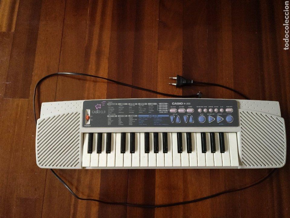 ÓRGANO TECLADO CASIO M 200 FUNCIONANDO (Música - Instrumentos Musicales - Teclados Eléctricos y Digitales)