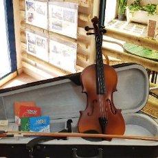 Instrumentos musicales: VIOLIN 4/4 CON ESTUCHE. Lote 216864548