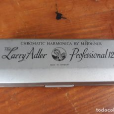 Instrumentos musicales: LARRY ADLER HARMONICA PROFESIONAL. Lote 216987188
