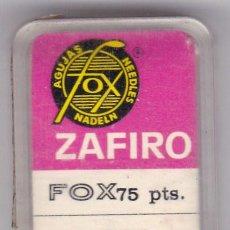 Instrumentos musicales: AGUJA TOCADISCO ZAFIRO FOX MODELO 41 ZST. Lote 217029613