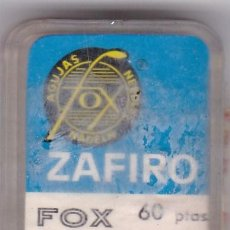 Instrumentos musicales: AGUJA TOCADISCO ZAFIRO FOX MODELO 213 ZM. Lote 217030110