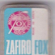 Instrumentos musicales: AGUJA TOCADISCO ZAFIRO FOX MODELO 51 ZST. Lote 217030447