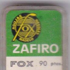 Instrumentos musicales: AGUJA TOCADISCO ZAFIRO FOX MODELO 74 ZM-ZM. Lote 217030906