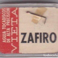 Instrumentos musicales: AGUJA TOCADISCO ZAFIRO VIETA MODELO 152 Z PARA CAPSULA TEPPAZ MICROSURCO. Lote 217031357
