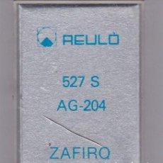 Instrumentos musicales: AGUJA TOCADISCO ZAFIRO REULO MODELO 527 S AG-204. Lote 217031583