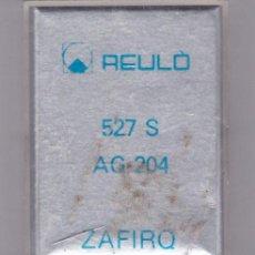 Instrumentos musicales: AGUJA TOCADISCO ZAFIRO REULO MODELO 527 S AG-204. Lote 217032003