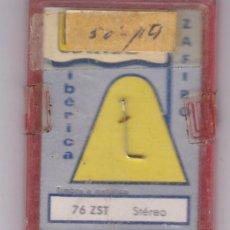 Instrumentos musicales: AGUJA TOCADISCO ZAFIRO IBERICA WALCO MODELO 76 ZST STEREO. Lote 217032282