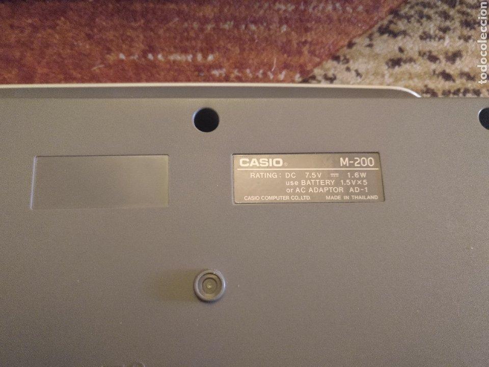 Instrumentos musicales: Órgano teclado CASIO M 200 funciona - Foto 7 - 217307900