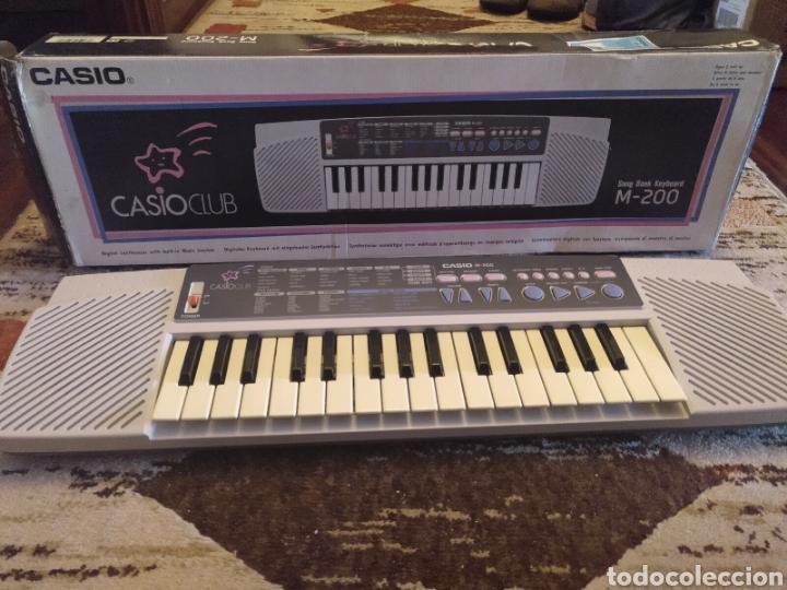 ÓRGANO TECLADO CASIO M 200 FUNCIONA (Música - Instrumentos Musicales - Teclados Eléctricos y Digitales)
