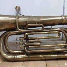 Instrumentos musicales: TUBA COUESNON DE PARIS, 94 RUE D´ANGOULEME. Lote 217674327