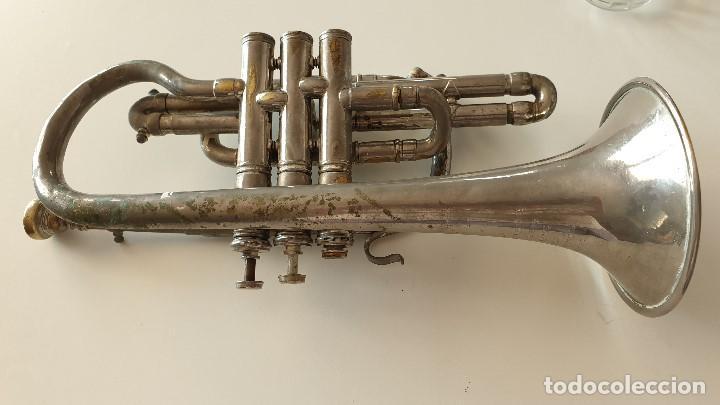 TROMPETA HOLANDESA ANTIGUA (Música - Instrumentos Musicales - Viento Metal)