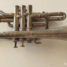 Instrumentos musicales: TROMPETA HOLANDESA ANTIGUA. Lote 217925938