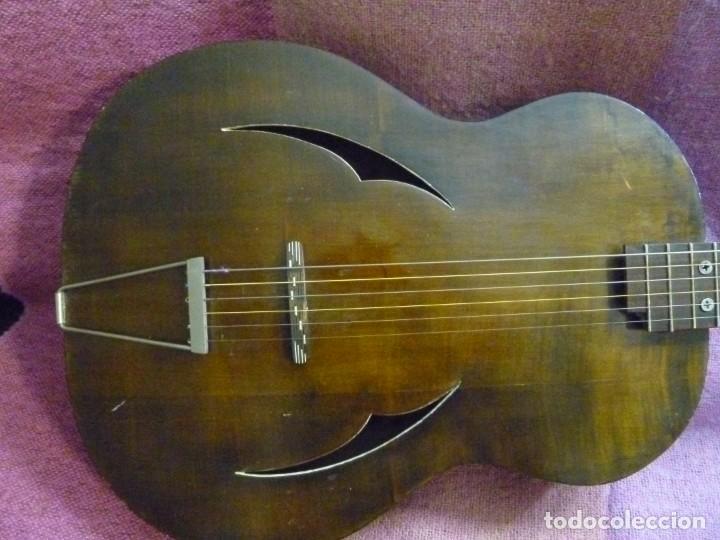 ANTIGUA GUITARRA JAZZ BASTARDA (Música - Instrumentos Musicales - Guitarras Antiguas)