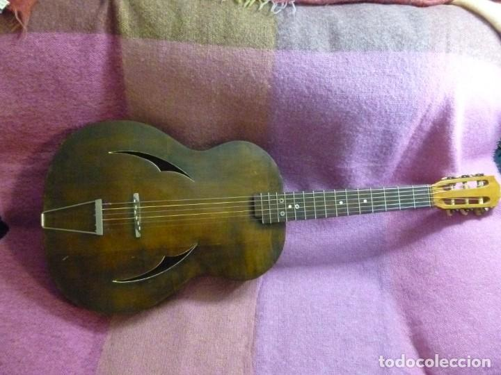 Instrumentos musicales: Antigua guitarra jazz bastarda - Foto 2 - 217970527