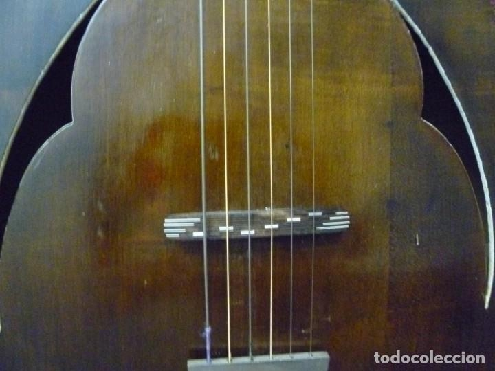 Instrumentos musicales: Antigua guitarra jazz bastarda - Foto 3 - 217970527