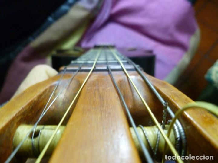 Instrumentos musicales: Antigua guitarra jazz bastarda - Foto 9 - 217970527