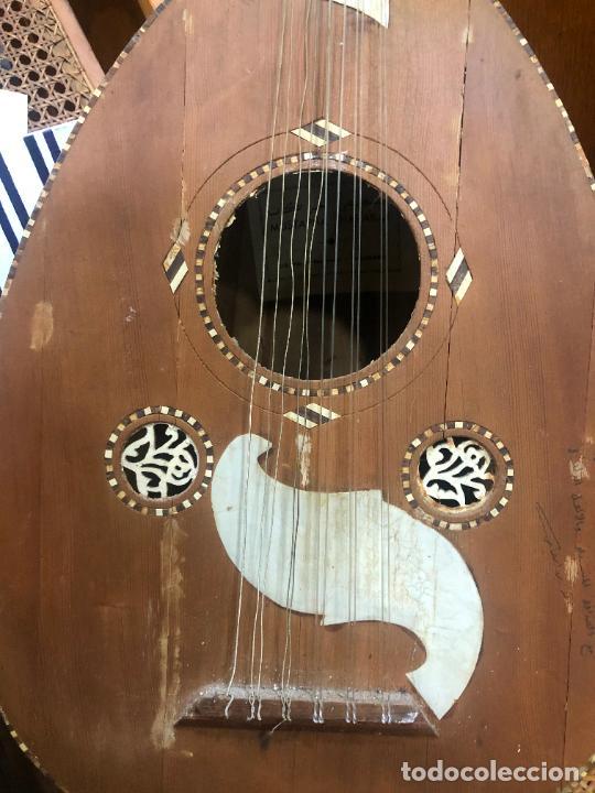 Instrumentos musicales: ANTIGUO INSTRUMENTO BAILKA ARABE TURCO - MEDIDA 80 CM - Foto 3 - 218089113