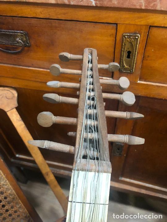 Instrumentos musicales: ANTIGUO INSTRUMENTO BAILKA ARABE TURCO - MEDIDA 80 CM - Foto 5 - 218089113