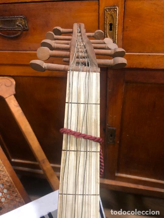 Instrumentos musicales: ANTIGUO INSTRUMENTO BAILKA ARABE TURCO - MEDIDA 80 CM - Foto 6 - 218089113